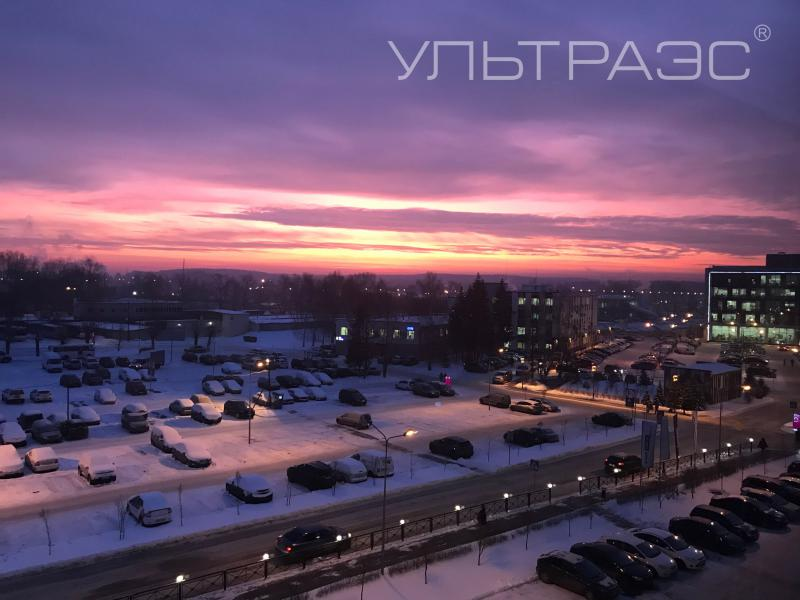 Here is a beautiful view from our office window)