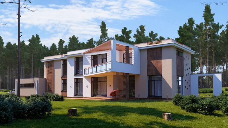 Projects Of Houses In The Style Of Hi Tech In High Tech Style Ultra S