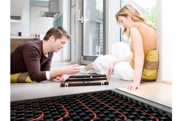 Underfloor heating package
